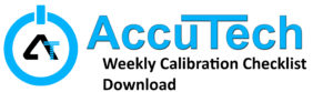 AccuTech_Calibration_Service_Weighing_Packing_Machine_Bagging_Equipment_Weekly_Checklist_Download